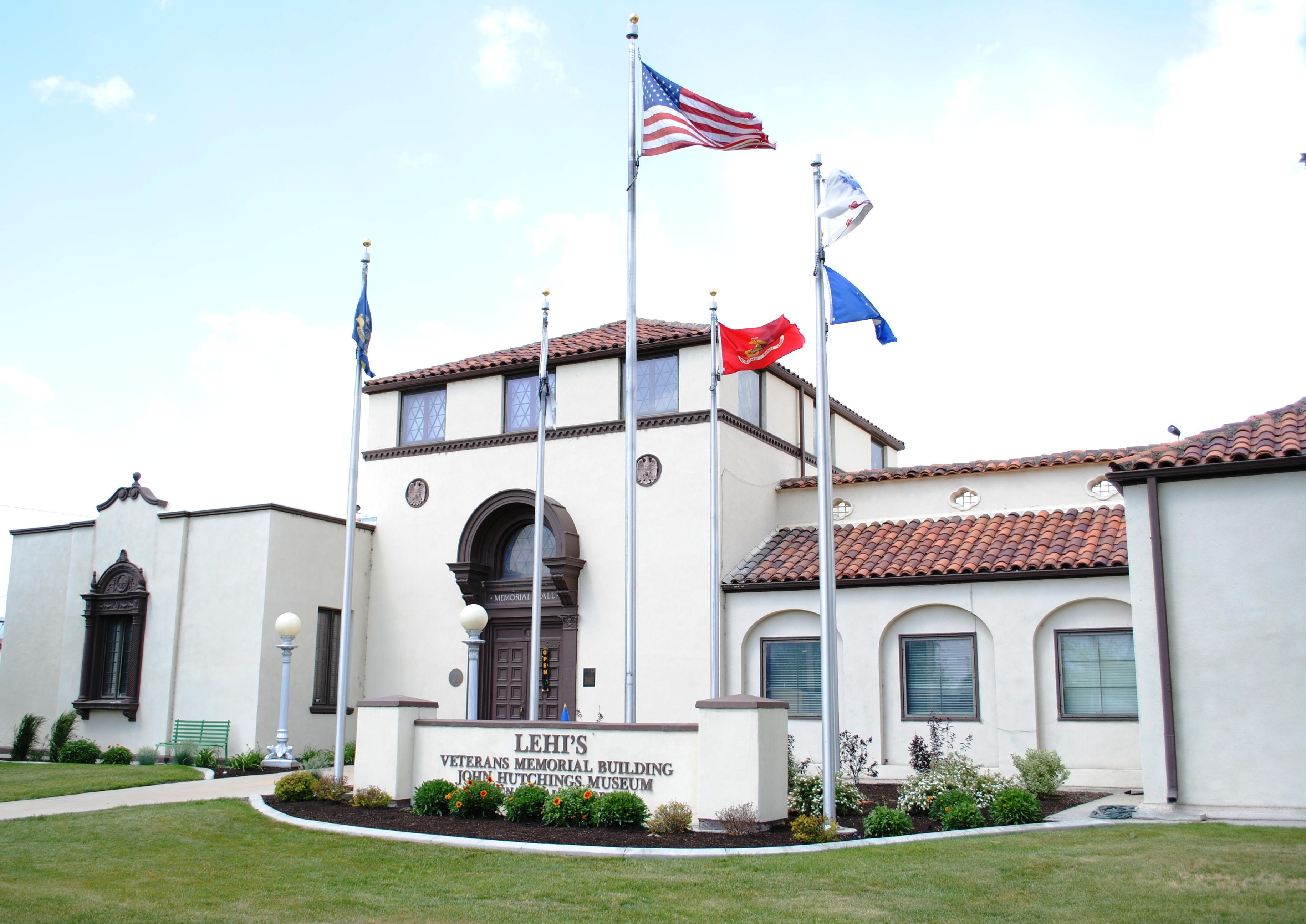 Foyer Museum Utah : Lehi city hall