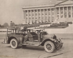 1925 Waterous Fire Equipment on White Truck Chassis