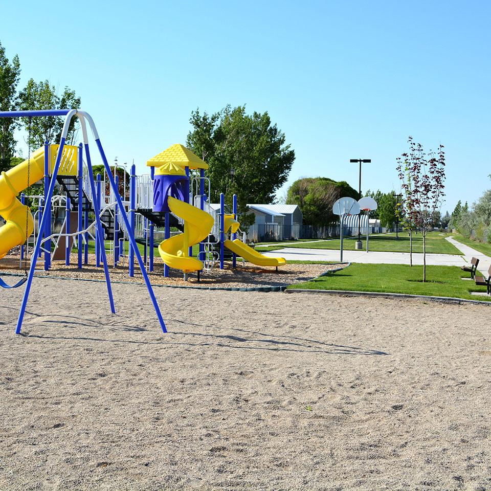 Gateway Park playground and trail