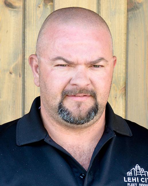 Fleet Manager Jeremy Estes