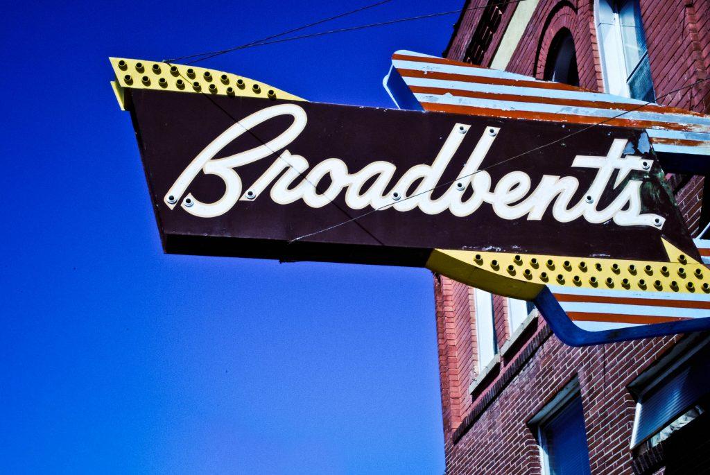 Broadbent's Store Sign