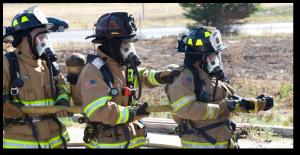 Lehi firefighters