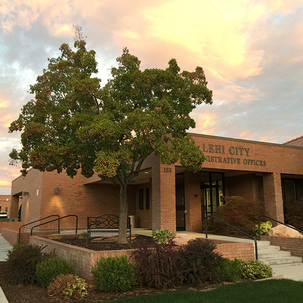 Lehi City Hall exterior