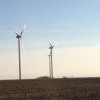 Pleasant Valley Wind Turbines