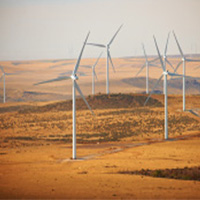 Horse Butte Wind Turbines