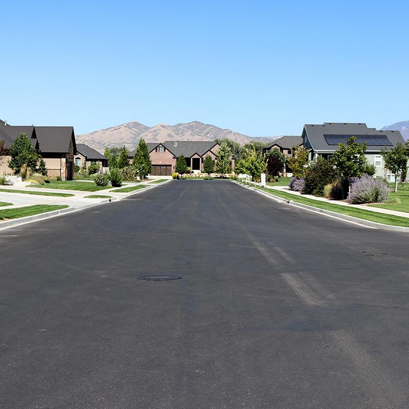 Neighborhood Road in Lehi